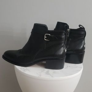 Coach Black Prudence Booties